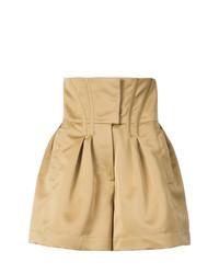 Pantalones Cortos Marrón Claro de Prabal Gurung