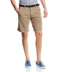 Pantalones cortos marrón claro de s.Oliver