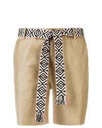 Pantalones Cortos Marrón Claro de Steffen Schraut