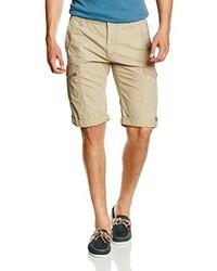 Pantalones cortos marrón claro de Tom Tailor