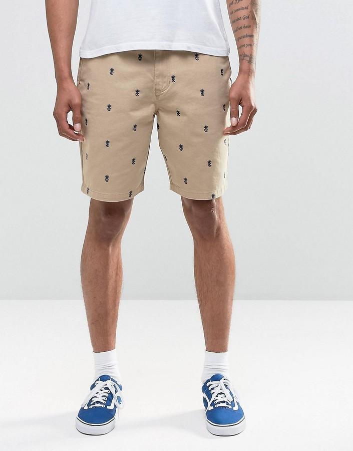 Pantalones Cortos Marron Claro De Vans 73 Asos Lookastic Espana