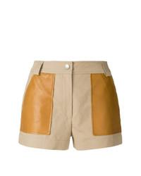 Pantalones Cortos Marrón Claro de Yves Salomon