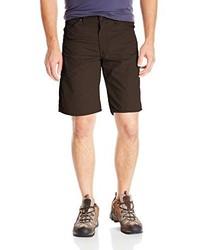 Pantalones Cortos Marrón Oscuro