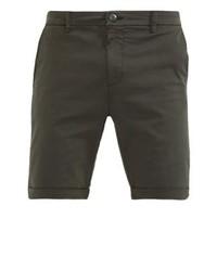 Pantalones Cortos Marrón Oscuro de Urban Classics