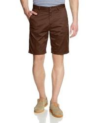 Pantalones Cortos Marrón Oscuro de Volcom