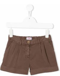 Pantalones cortos marrónes de Il Gufo