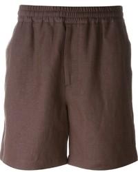 Pantalones cortos marrónes de MSGM