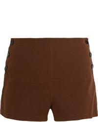 Pantalones cortos marrónes de See by Chloe