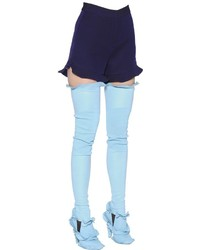 Pantalones Cortos Morado Oscuro
