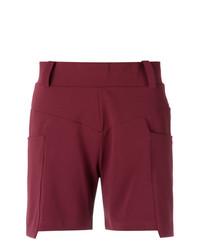 Pantalones Cortos Morado Oscuro de Olympiah