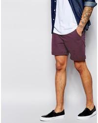 Pantalones cortos morado de Asos