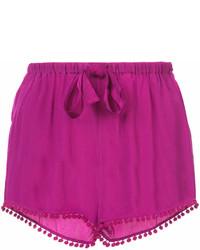 Pantalones Cortos Morado de Figue