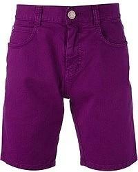 Pantalones cortos morado de Frankie Morello