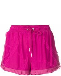 Pantalones Cortos Morado