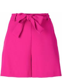 Pantalones Cortos Morado de Pinko
