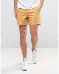 Pantalones cortos mostaza de Asos