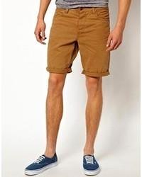 Pantalones cortos mostaza de Minimum