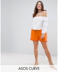 Pantalones cortos naranjas de Asos