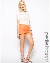 Pantalones Cortos Naranjas de Glamorous Petite