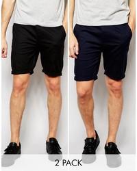 Pantalones cortos negros de Asos