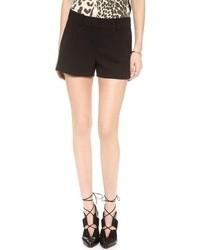 Pantalones cortos negros de Diane von Furstenberg
