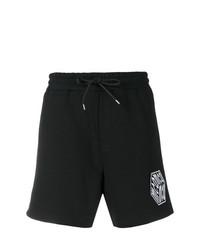 Pantalones cortos negros de McQ Alexander McQueen