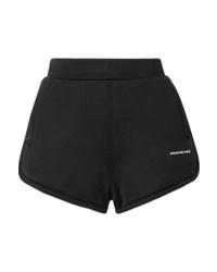 Pantalones cortos negros de T by Alexander Wang