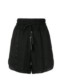Pantalones cortos negros de Zeus+Dione