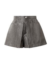 Pantalones cortos plateados de Chloé