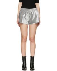 Pantalones Cortos Plateados de Off-White