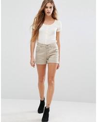 Pantalones cortos plateados de Only
