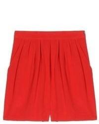 Pantalones cortos rojos