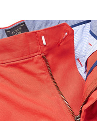 Pantalones cortos rojos de J.Crew