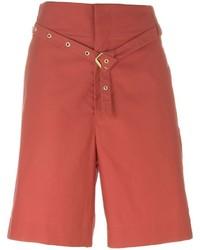 Pantalones cortos rojos de Isabel Marant