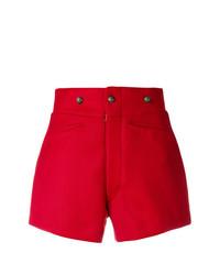 Pantalones cortos rojos de Maison Margiela