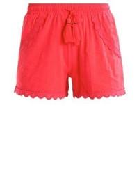 Pantalones Cortos Rojos de Vero Moda