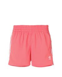 Pantalones cortos rosa de adidas
