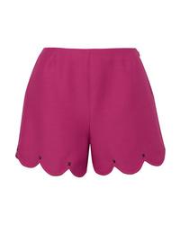 Pantalones cortos rosa de Valentino
