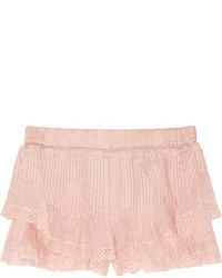 Pantalones cortos rosados de Isabel Marant