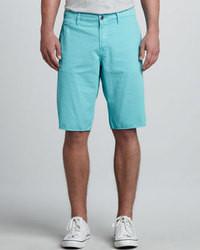 Pantalones Cortos Turquesa