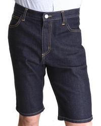 Pantalones cortos vaqueros azul marino