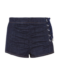 Pantalones cortos vaqueros azul marino de Carven