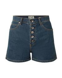 Pantalones cortos vaqueros azul marino de Eve Denim