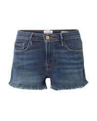 Pantalones cortos vaqueros azul marino de Frame