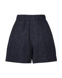 Pantalones cortos vaqueros azul marino de Tomas Maier