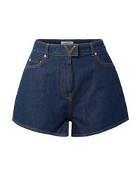 Pantalones cortos vaqueros azul marino de Valentino