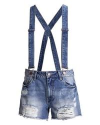 Pantalones Cortos Vaqueros Azul Marino de Vila