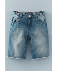 Pantalones cortos vaqueros azules