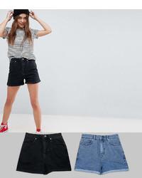 Pantalones cortos vaqueros azules de Asos