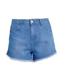 Pantalones Cortos Vaqueros Azules de New Look